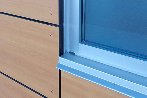 Surface Applied Aluminum Composite Panel : Techpoli films manufacturing of surface protection